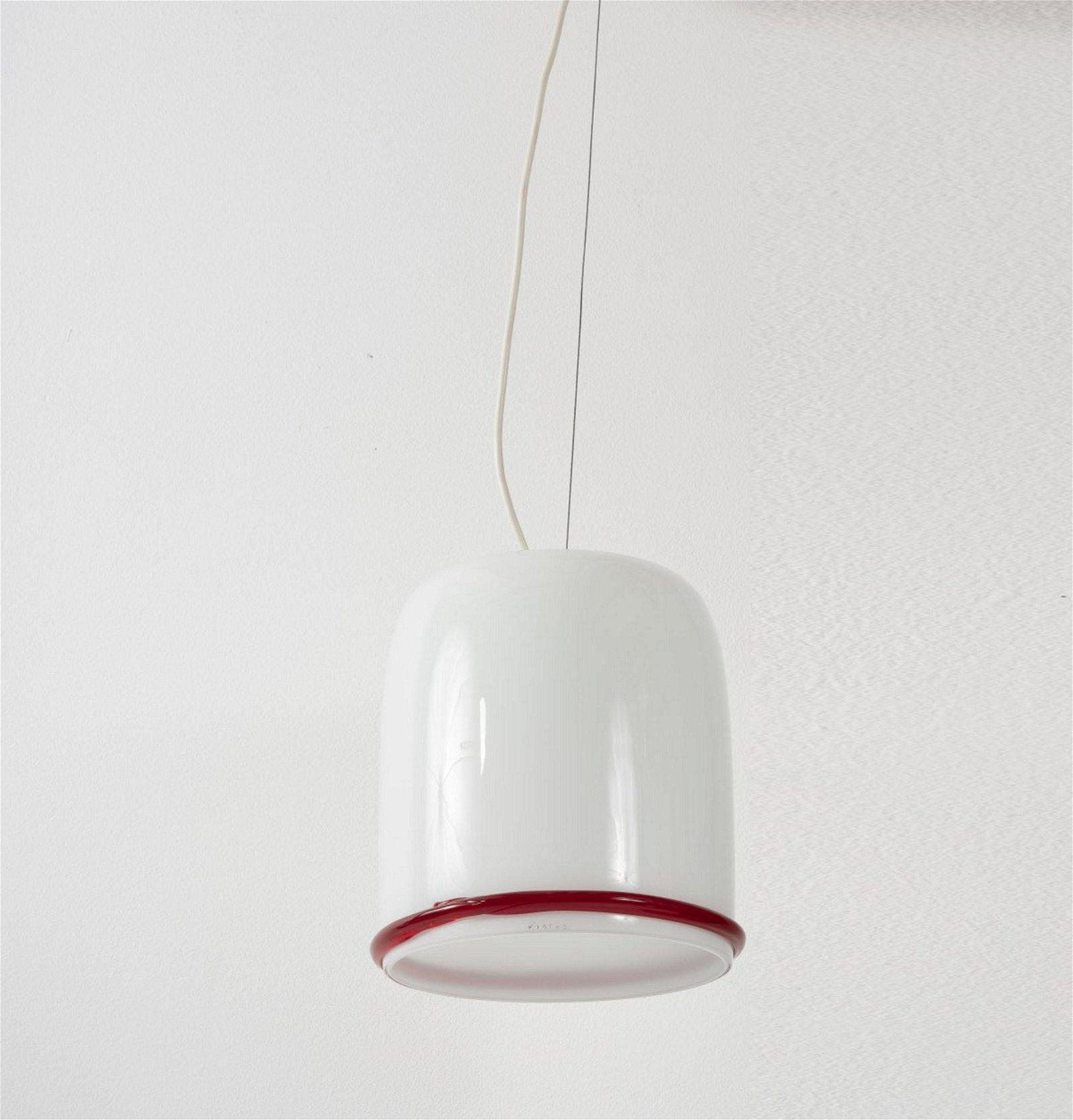 Ettore Sottsass, Pendant light, c. 1977
