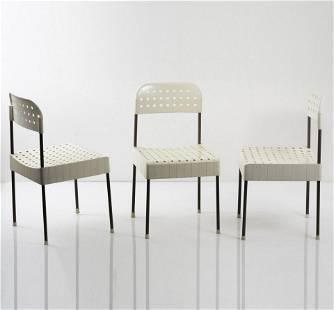 Enzo Mari, Three 'Box' chairs, 1971