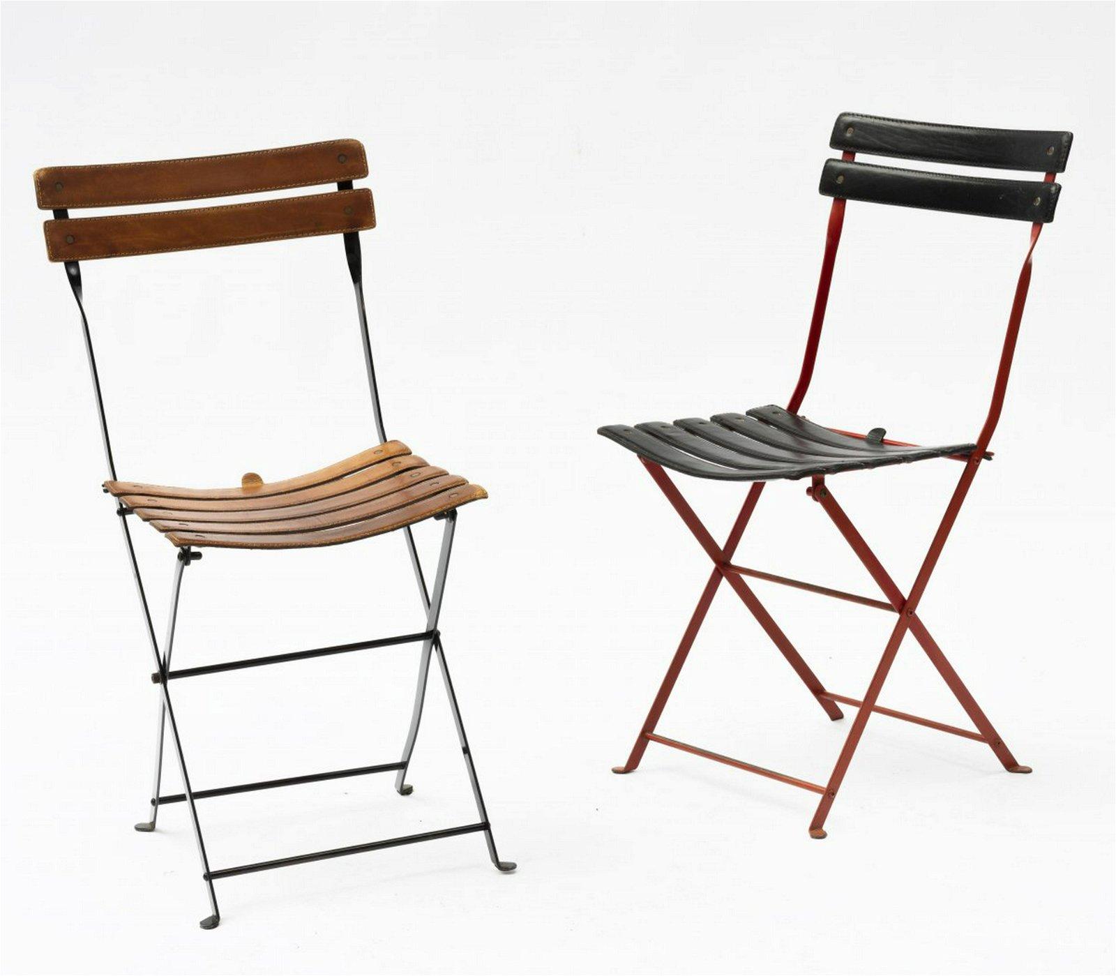 M. Zanuso, Two 'Celestina' folding chairs, 1978
