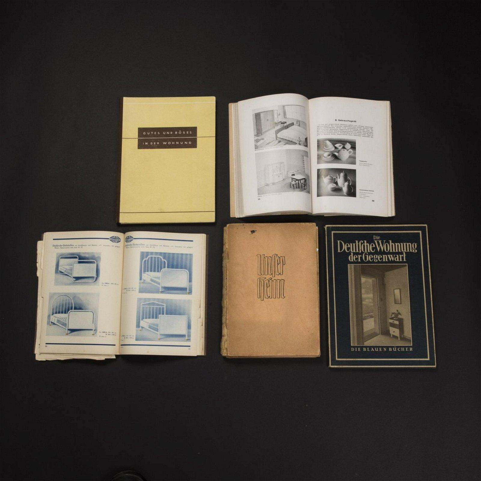 Specialist literature , Mixed lot 1930s