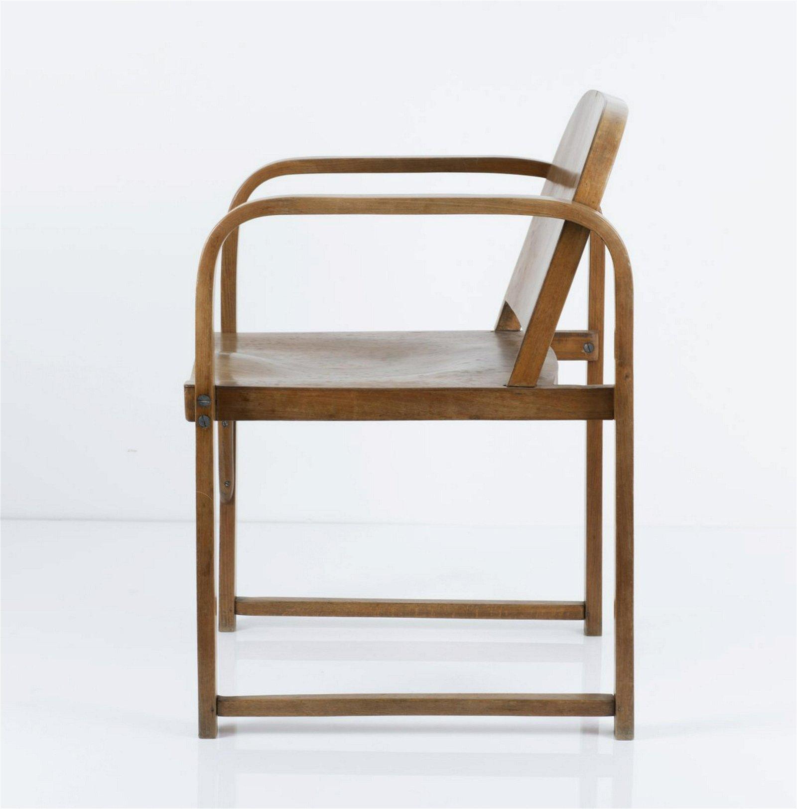 Thonet Mundus, 'A 745 F' armchair, 1920s