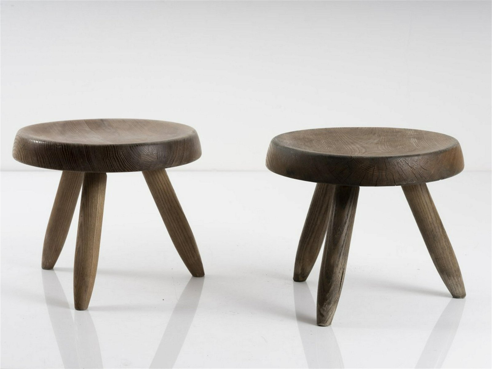 Charlotte Perriand, Two stools, 1938