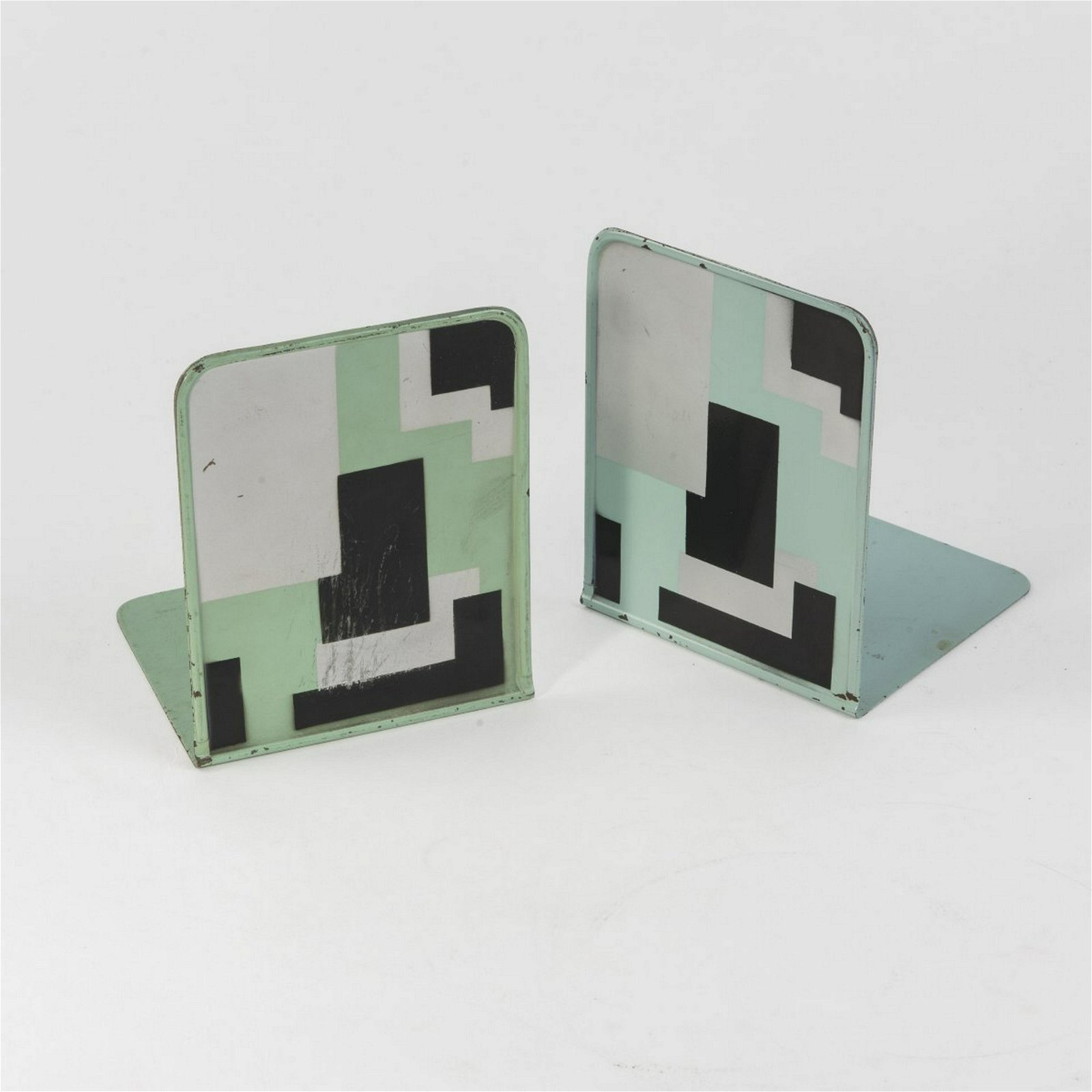 Marianne Brandt, Two bookends, 1929-32