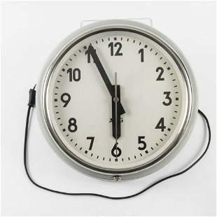 AEG Berlin Electric clock c 1920