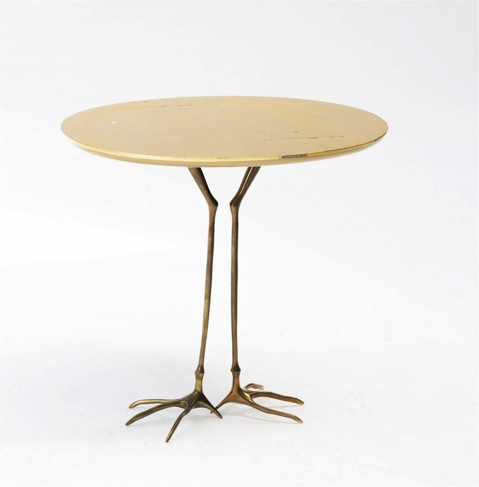 Meret Oppenheim, 'Traccia' side tabel, 1971
