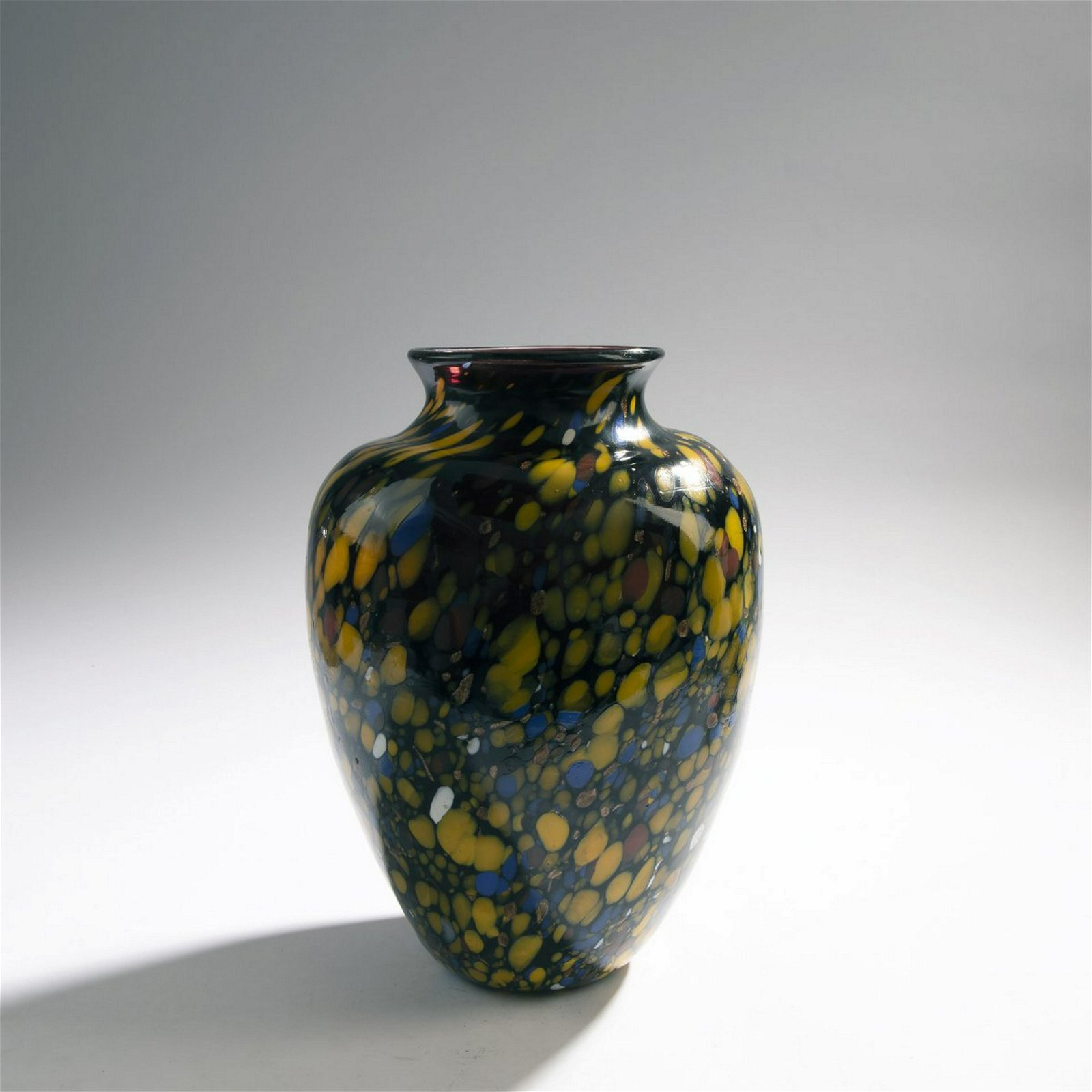 Fratelli Toso (attr.), Vase 'A macchie', 1930s