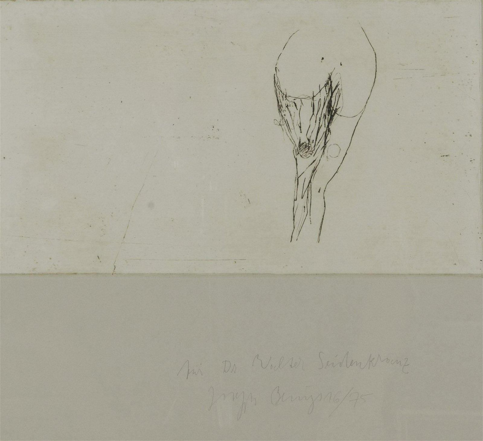 Joseph Beuys, 'Woman's torso', 1985