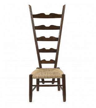 Gio Ponti, Highback chair, c. 1939
