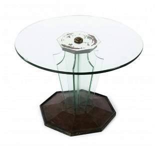 Fontana Arte (attr.), Side table, 1940 / 50s