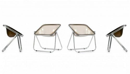 Giancarlo Piretti, 4 'Plona' chairs, 1971