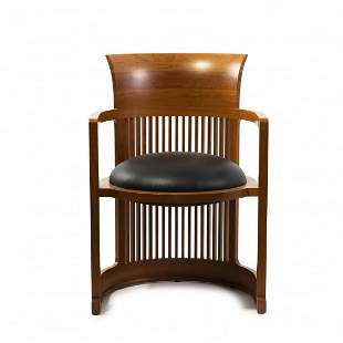 Frank Lloyd Wright, 'Barrel' chair, 1904-05