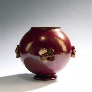 Napoleone Martinuzzi (attributed), 'Pasta vitrea' vase,