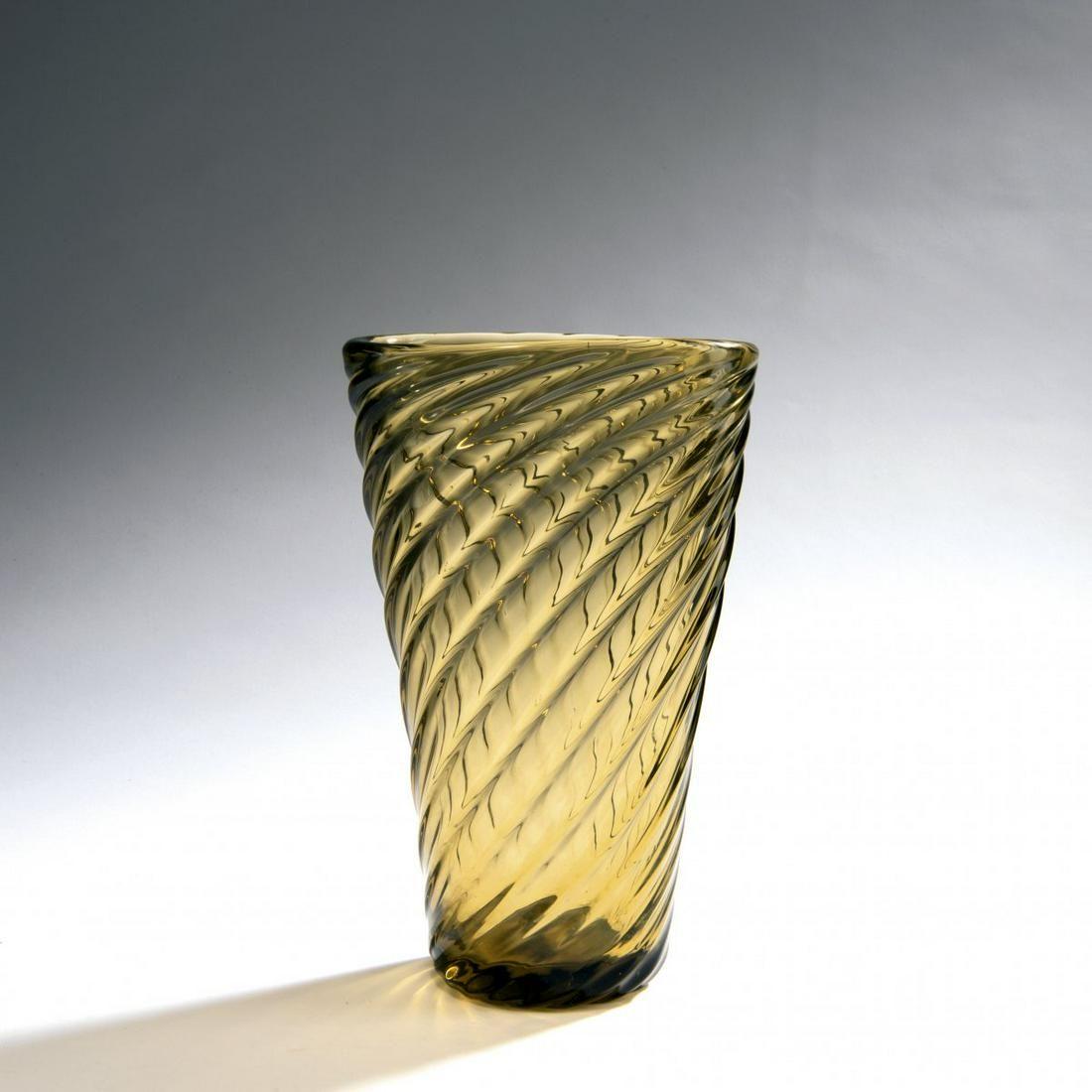 Paolo Venini, 'Cordonato' vase, c. 1935