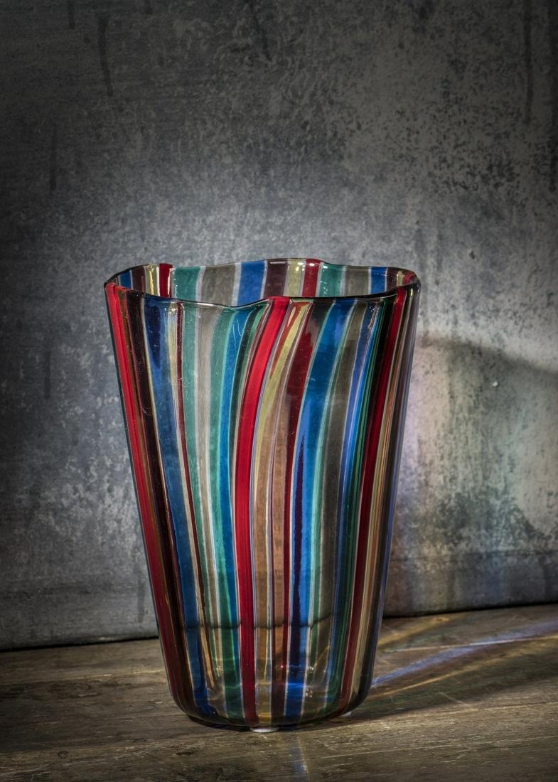 Gio Ponti, 'A canne' vase, 1946/47