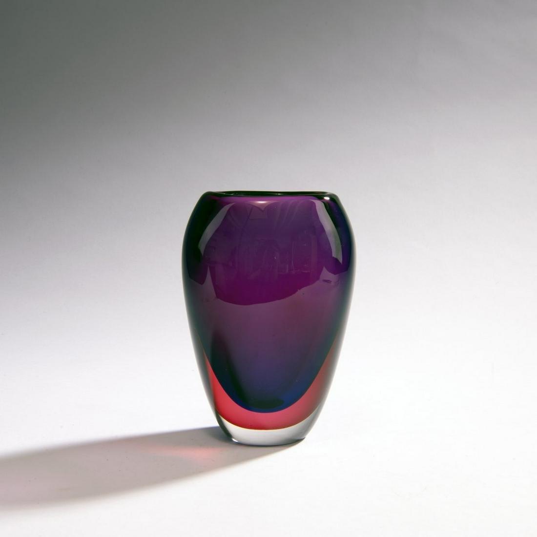 Flavio Poli, 'Sommerso' vase, c. 1954
