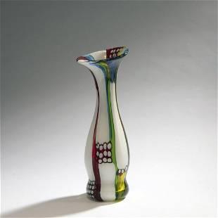 Anzolo Fuga, 'Finestra' vase, c. 1960