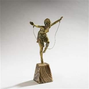 Demètre H. Chiparus, 'Chain dancer', c. 1925