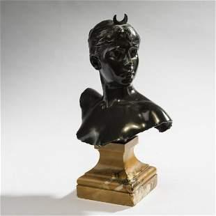 Alexandre Falguière, Bust 'Diane', 1882