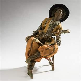 Lotte Pritzel Mandolin player c 1912