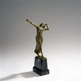 H Rieder Castagnette dancer c 1910