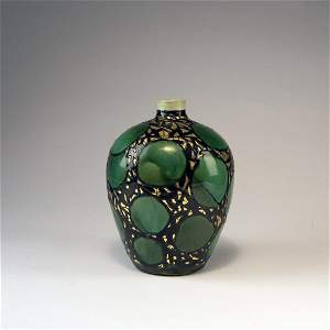 Max Laeuger, Kandern, 'Goldmosaik' vase,  1906