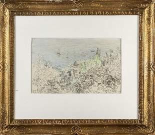 Paul Baum Untitled landscape c 1900