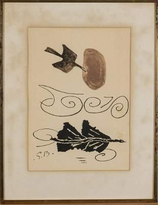 Georges Braque, From 'Derrière Le Miroir', Nr.