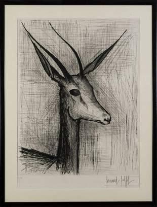Bernard Buffet Untitled deer 1950s 1960s
