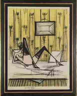 Bernard Buffet, 'Jeu de dames', 1970