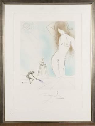 Salvador Dalí, 'Nude' from 'Don Juan', 1970