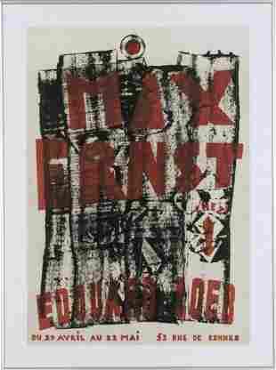 Max Ernst, 'Max Ernst chez Edouard Loeb', 1955