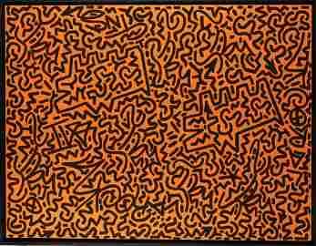 Keith Haring; Angel Ortiz,