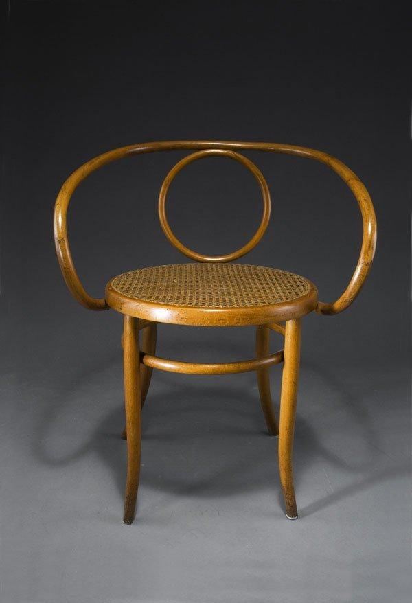 1001: Fischel & Sons, Niemes. Bentwood chair. Bentwood,