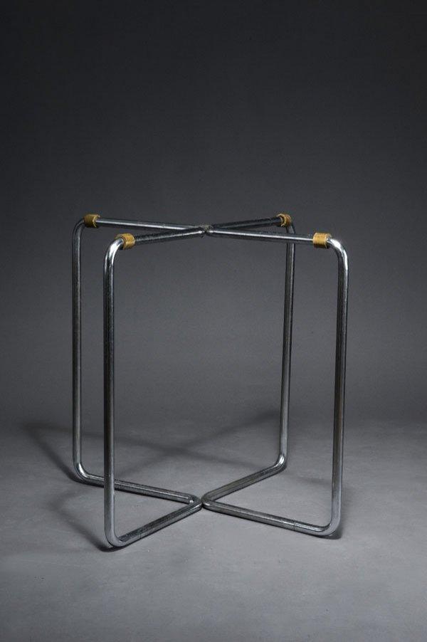 1020: Marcel Breuer. 'B 27'. Chrome-plated tubular stee