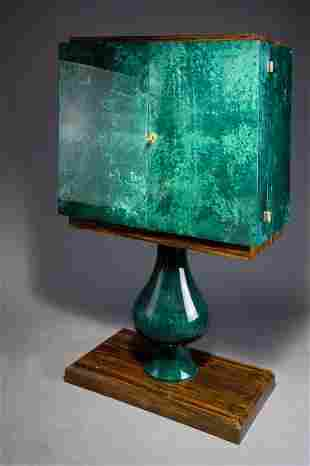 1145: Aldo Tura. Cabinet, designed in the 1950s. H. 155