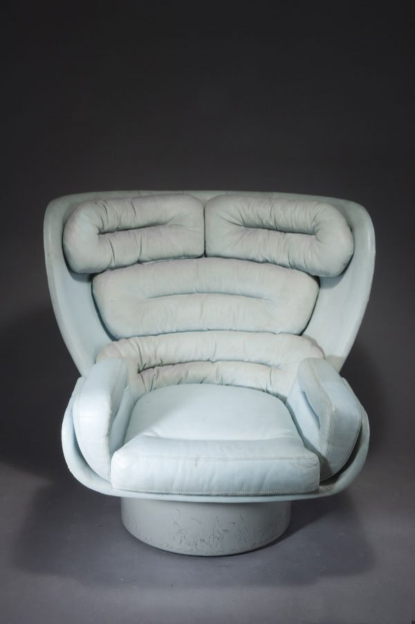 1302: Joe Colombo. 'Elda' armchair, designed in 1965. H