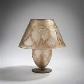 René Lalique, 'Six Danseuses' table light, 1931