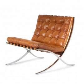 Ludwig Mies van der Rohe, 'Barcelona' armchair, 1929