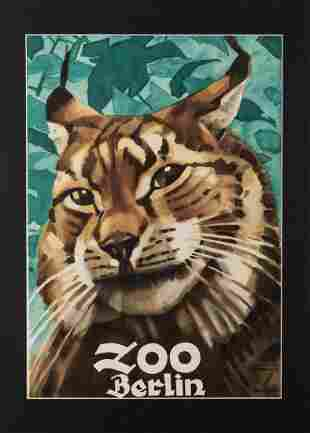 Ludwig Hohlwein Zoo Berlin 1930s