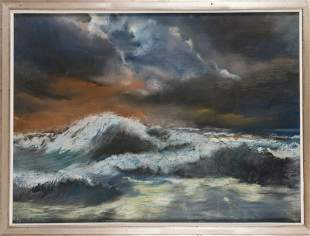 Hans Juumlrgen Kallmann Untitled Sea landscape