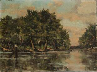 Anonymous 20th century Untitled Summer River