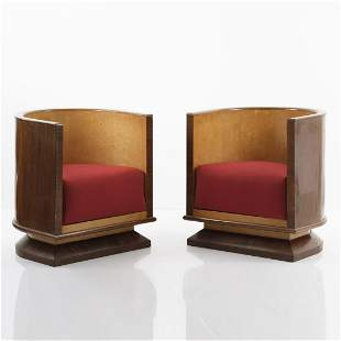 Italy, Two armchairs, c. 1930