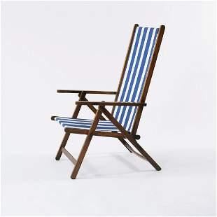 Fratelli Reguitti, Agnosine, Sun chair, 1940s