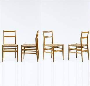 Gio Ponti, Four 'Leggera' chairs, 1949/50