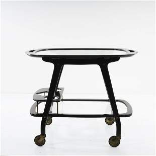 Cesare Lacca (style), Serving cart, 1950s