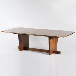 George Nakashima, 'Minguren II' dining table, 1974