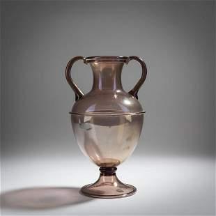 Vittorio Zecchin, Vase with handles, 1921-25