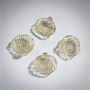 Carlo Scarpa, Set of four bowls, c. 1935