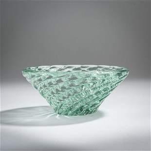 Paolo Venini, 'Diamante' bowl, c. 1935
