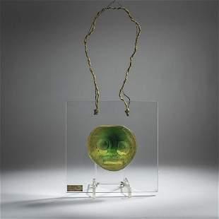 Max Ernst, Glass sculpture 'Elfo III', 1966